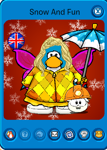Featured Penguin Name Snow and Fun